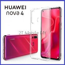 Huawei Nova 4 Soft Transparent Case Slim TPU Cover