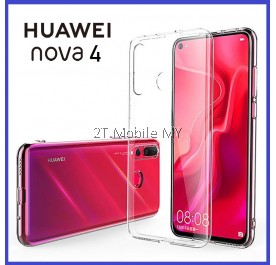 Huawei Nova 4 Soft Transparent Case Slim TPU Cover