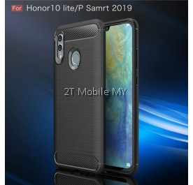 Huawei Honor 10 Lite Rugged Armor Bumper TPU Case Cover Matte Anti-Fingerprint