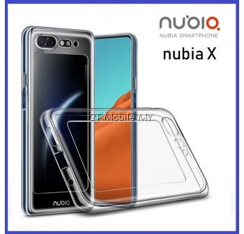 ZTE Nubia X Soft Transparent Case Slim TPU Cover