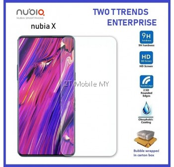 ZTE Nubia X Tempered Glass Screen Protector 2.5D