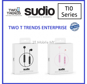 Sudio Tio Wireless Bluetooth W/Mic Earphone Original