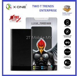 X-One Rizen Series Powerbank (MB-01) 10000mAh QC3.0 Huawei FCP Apple PD Orignal