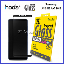 Samsung Galaxy A9 2018 / A7 2018 HODA 2.5D Full Coverage Tempered Glass Screen Protector