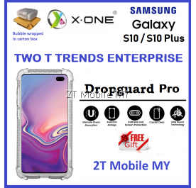 Samsung Galaxy S10 / S10 Plus X-One DropGuard Pro Clear Bumper Case Drop Guard