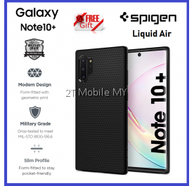 Samsung Galaxy Note 10 / Note 10 Plus / Note 10+ / S10 / S10 Plus Spigen Liquid Air Case Cover Original