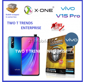 Vivo V15 Pro X-One Extreme Shock Eliminator Screen Protector 3rd Gen.