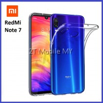 XiaoMi RedMi Note 7 Soft Transparent Case Slim TPU Cover
