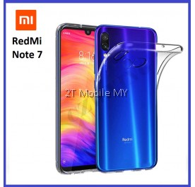 XiaoMi RedMi Note 7 Soft Transparent Case Slim TPU Cover