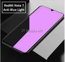 XiaoMi RedMi Note 8 / RedMi Note 7 Full Anti Blue Light Ray Tempered Glass Screen Protector