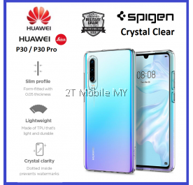Huawei P30 / P30 Pro Spigen Liquid Crystal Clear Case Bumper Cover Original