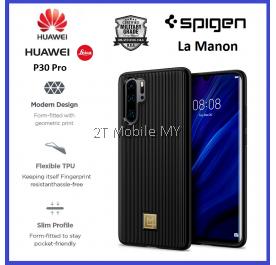 Huawei P30 Pro Spigen La Manon Classic Black Case Cover Bumper Original