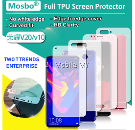 Huawei Honor V30 / V30 Pro / V20 / View 30 / View 30 Pro / View 20 Front Back 3D Full Cover Soft Screen Protector
