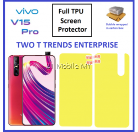 Vivo V15 Pro Front Back 3D Full Coverage Screen Protector