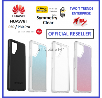 Huawei P30 / P30 Pro OtterBox Symmetry Series Clear Case Bumper Case 1 Year Warranty ORI