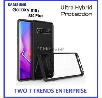 Samsung Galaxy S10 Plus S10+ Air Hybrid TPU Case Slim Solid Fusion Cover