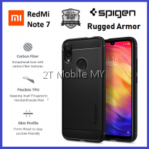 XiaoMi RedMi Note 7 / Note 7 Pro Spigen Rugged Armor Case Cover Bumper ORIGINAL