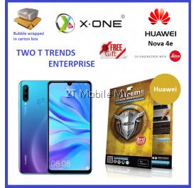 Huawei Nova 4e / P30 Lite X-One Extreme Shock Eliminator Screen Protector 3rd Gen.