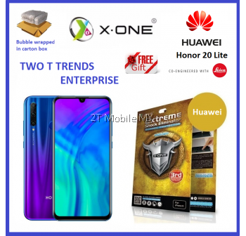 Huawei Honor 20 Lite X-One Extreme Shock Eliminator Screen Protector 3rd Gen.