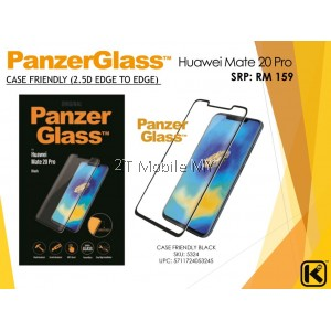 Huawei P30 / P30 Pro / Mate 20 / Mate 20 Pro PanzerGlass Tempered Glass Screen Protector Case Friendly