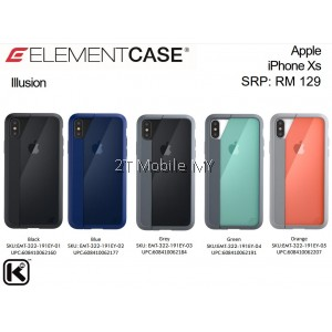 Apple iPhone XS Max / XS / X / XR Element Case Illusion Military Drop Protection