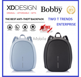 (PROMO) XD Design Bobby Elle Bag FREE PopSocket Best Anti-theft Backpack XDDesign Travel ORIGINAL