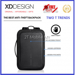 (PROMO) XD Design Bobby Bizz Bag FREE PopSocket Best Anti-theft Backpack XDDesign Travel ORI