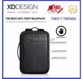 (PROMO) XD Design Bobby Bizz Bag FREE PopSocket Best Anti-theft Backpack XDDesign Travel ORI