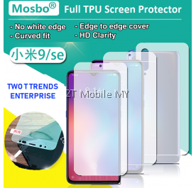 XiaoMi Mi9 SE Front Back Full Coverage 3D Screen Protector