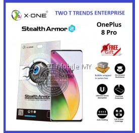 OnePlus 8 Pro / 7T Pro / OnePlus 7 Pro / 1+7T Pro X-One Stealth Armor Ver 2 Seamless Anti Shock Screen Protector ORI