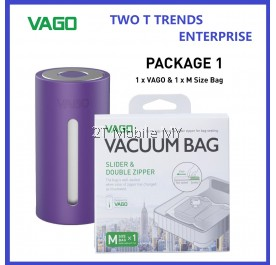 Vago Travel Vacuum Compressor (Comes With M Size Bag) ORIGINAL