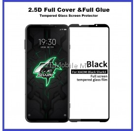 XiaoMi Black Shark 3 / Black Shark 3 Pro / Black Shark 2 Full Glue Cover Tempered Glass Screen Protector 2.5D