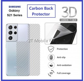 Samsung Galaxy S21 / S21 Plus / S21 Ultra / S20 Plus S20 Ultra S10 Lite S10 S10+ S10e Back Carbon Fiber Matte Protector