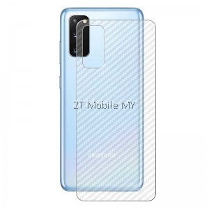 Samsung S20 Plus / S20 Ultra / S10 Lite / S10 S10+ S10e Back Carbon Fiber Matte Film Screen Protector Anti Fingerprint