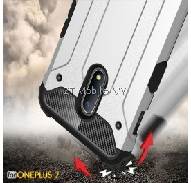 OnePlus 7 Pro 1+7 Pro Super Tough Armor Bumper Case Cover
