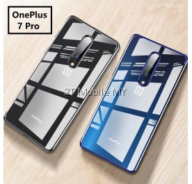 OnePlus 7 Pro 1+7 Pro Trendy Electroplating Edge TPU Cover Bumper Case