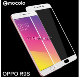 Oppo R9S Mocolo Full Screen Tempered Glass Screen Protector