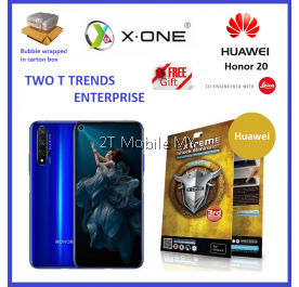 Huawei Honor 20 X-One Extreme Shock Eliminator Screen Protector 3rd Gen