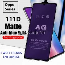 Oppo Reno / Reno 10X Zoom / F11 Pro 111D Tempered Glass Full Glue Clear / Matte / Anti Blue Light (Black Frame)