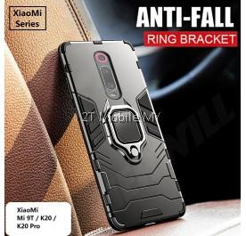 XiaoMi Mi9T / K20 / K20 Pro Ironman Transformer Kickstand Magnetic Ring Bumper Case