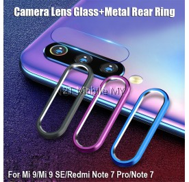 XiaoMi K30 / Mi Note 10 / Note 10 Pro / K20 Camera Soft Tempered Glass Lens Protector