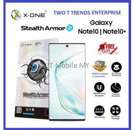 Samsung Galaxy Note 10 / Note 10 Plus / Note 10+ X-One Stealth Armor Ver 2 Seamless Anti Shock Screen Protector
