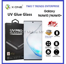 Samsung Galaxy Note 10 / Note 10 Plus / Note 10+ / Note 9 X-One UV Pro Full Loca UV Glue Tempered Glass Original