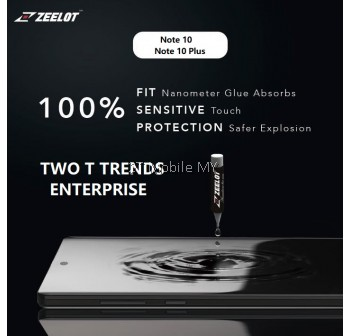 Samsung Galaxy Note 10 / Note 10 Plus Zeelot PureGlass LOCA Glue UV Clear / Matte Tempered Glass Screen Protector ORI