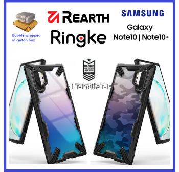 Samsung Galaxy Note 10 / Note 10 Plus / Note 10+ Ringke Fusion X / Fusion X DDP Camo Case Cover ORI