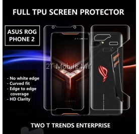 Asus ROG Phone 5 / ROG Phone 3 / ROG Phone 2 Front Back Full Coverage 3D Hydrogel Soft Screen Protector