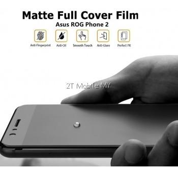 Asus ROG Phone 2 Front Back Matte Anti-Fingerprint Full Screen Protector
