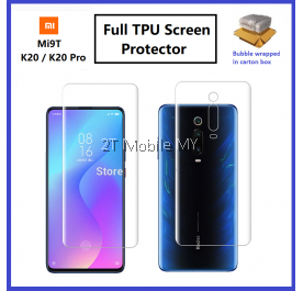 XiaoMi Mi Note 10 / Mi Note 10 Pro / Mi 9T / Mi 9T Pro / K20 / K20 Pro Front Back Full Coverage 3D Screen Protector
