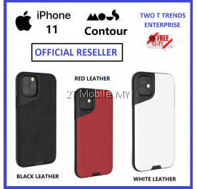 Apple iPhone 11/ 11 Pro / 11 Pro Max Mous Contour Real Leather Case Airoshock High Impact Shockproof Case Bumper Cover