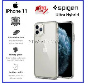 Apple iPhone 11 / iPhone 11 Pro / iPhone 11 Pro Max Spigen Ultra Hybrid Clear Case Bumper Cover ORI